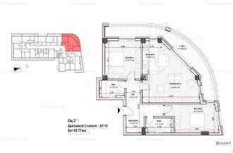 Apartament 3 camere zona Tractorul Comision 0%