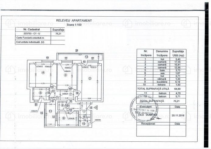 Apartament 75 Mp De Vanzare In Rahova Bucuresti Imoradar24