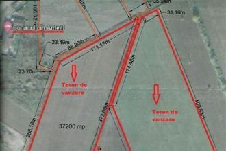 Teren intravilan zona Podul Barsei