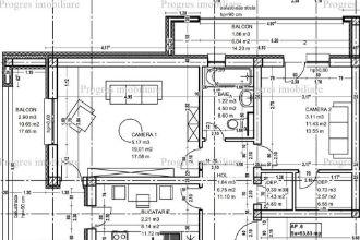 Apartament 2 camere decomandat - 2 balcoane - etaj 1 - loc de parcare - 58.000 euro