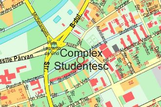 Spatiu comercial complexul studentesc